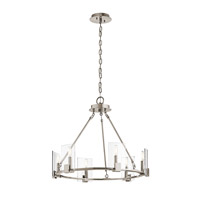 Signata 6 Light 26 inch Classic Pewter Chandelier Ceiling Light