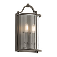 Kichler Emory 2 Light Wall Sconce in Olde Bronze 43710OZ