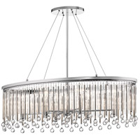 Kichler 43725CH Piper 6 Light 14 inch Chrome Chandelier Ceiling Light
