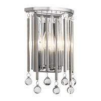 Kichler 43727CH Piper 2 Light 8 inch Chrome Wall Sconce Wall Light