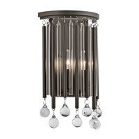 Kichler 43727ESP Piper 2 Light 8 inch Espresso Wall Sconce Wall Light