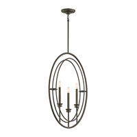 Kichler 43731OZ Imogen 3 Light 4 inch Olde Bronze Foyer Pendant Ceiling Light