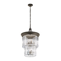 Emile 9 Light 18 inch Olde Bronze Semi-Flush Convertible Pendant Ceiling Light