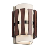 Cirus 2 Light 8 inch Auburn Stained Wall Sconce Wall Light