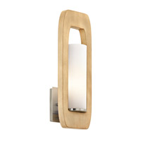 Kichler Passport 1 Light Wall Bracket in Brushed Nickel 43762NI