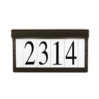 Address Light 16V 5 watt Olde Bronze Address Light in Standard