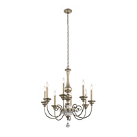 Kichler 43805SGD Rosalie 8 Light 32 inch Sterling Gold Chandelier Ceiling Light