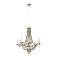 Birkdale 8 Light 31 inch Sterling Gold Chandelier Ceiling Light