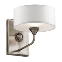 Lucille 1 Light 8 inch Classic Pewter Wall Bracket Wall Light