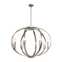 Kichler 43872CLP Elata 8 Light 36 inch Classic Pewter Chandelier Round Pendant Ceiling Light
