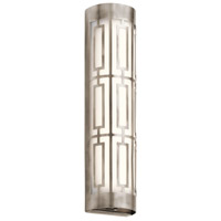 Kichler 43879CLPLED Empire LED 5 inch Classic Pewter Vanity Light Wall Light, Dimmable