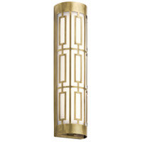 Kichler 43879NBRLED Empire LED 5 inch Natural Brass Vanity Light Wall Light, Dimmable