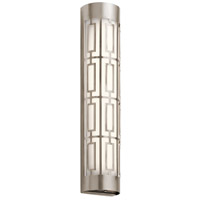 Kichler 43880CLPLED Empire LED 5 inch Classic Pewter Vanity Light Wall Light, Dimmable