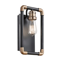 Kichler 43889BK Imahn 1 Light 7 inch Black Wall Sconce Wall Light