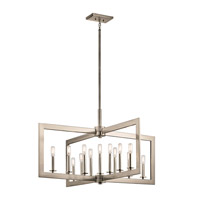 Kichler 43901CLP Cullen 13 Light 39 inch Classic Pewter Chandelier Ceiling Light