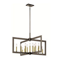 Kichler 43901OZ Cullen 13 Light 39 inch Olde Bronze Chandelier Ceiling Light