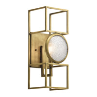 Vance 1 Light 6 inch Natural Brass Wall Sconce Wall Light