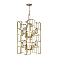 Vance 8 Light 20 inch Natural Brass Chandelier Ceiling Light