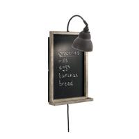 Kichler 44015WZC Chalkboard 1 Light 13 inch Weathered Zinc Wall Bracket Wall Light