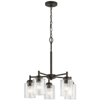 Winslow 5 Light 20 inch Olde Bronze Chandelier Ceiling Light, Small