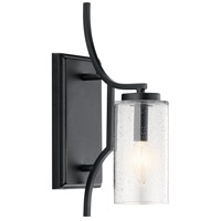 Kichler 44070DBK Vara 1 Light 5 inch Distressed Black Wall Bracket Wall Light