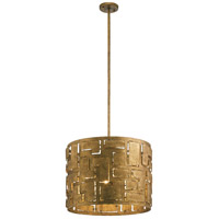 Kichler 44155PG Shefali 4 Light 21 inch Pharaoh Gold Pendant Ceiling Light