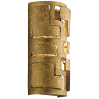 Kichler 44157PG Shefali 2 Light 7 inch Pharaoh Gold Wall Sconce Wall Light