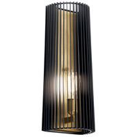 Kichler 44170BK Linara 1 Light 7 inch Black Wall Sconce Wall Light