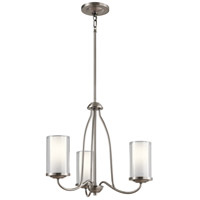 Kichler 44175CLP Lorin 3 Light 19 inch Classic Pewter Chandelier Ceiling Light, Small