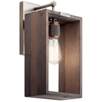 Kichler 44218CLP Industrial Frames 1 Light 8 inch Classic Pewter Wall Bracket Wall Light
