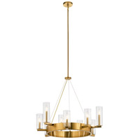 Kichler 44315FXG Cleara 9 Light 32 inch Fox Gold Chandelier Ceiling Light, Large