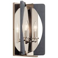 Kichler 44364DWG Alscar 2 Light 8 inch Driftwood Grey Wall Sconce Wall Light