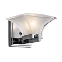 Kichler Lighting Tulare 1 Light Wall Sconce in Chrome 45036CH photo thumbnail