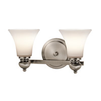 Kichler Lighting Sheila 2 Light Bath Wall in Classic Pewter 45047CLP photo thumbnail