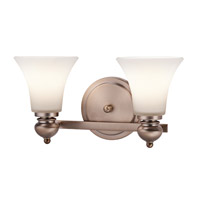 Kichler Lighting Sheila 2 Light Bath Wall in Classic Bronze 45047CLZ photo thumbnail