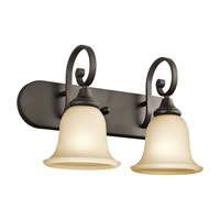 Kichler 45054OZL16 Monroe LED 18 inch Olde Bronze Vanity Light Wall Light