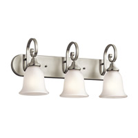 Monroe LED 24 inch Brushed Nickel Vanity Light Wall Light