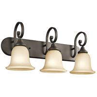 Kichler 45055OZ Monroe 3 Light 24 inch Olde Bronze Bath Vanity Wall Light