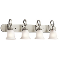 Monroe 4 Light 36 inch Brushed Nickel Bath Wall Wall Light