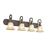 Kichler 45056OZL16 Monroe LED 36 inch Olde Bronze Vanity Light Wall Light