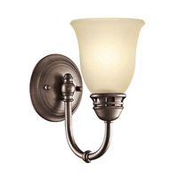 Kichler Lighting Durham 1 Light Wall Sconce in Olde Bronze 45064OZ
