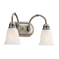Kichler 45065AP Durham 2 Light 16 inch Antique Pewter Bath Vanity Wall Light photo thumbnail