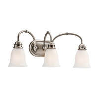 Kichler 45066AP Durham 3 Light 23 inch Antique Pewter Bath Vanity Wall Light