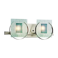 Kichler Lighting Manitoba 2 Light Bath Vanity in Brushed Nickel 45073NI photo thumbnail