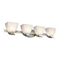 Kichler Lighting Claro 4 Light Bath Vanity in Brushed Nickel 45116NI photo thumbnail