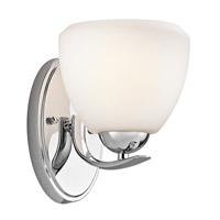 Kichler Lighting Calleigh 1 Light Bath Vanity in Chrome 45117CH