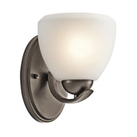 Kichler Lighting Calleigh 1 Light Wall Sconce in Olde Bronze 45117OZ photo thumbnail