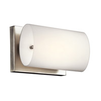 Kichler Lighting Ayana 1 Light Wall Sconce in Brushed Nickel 45125NI photo thumbnail