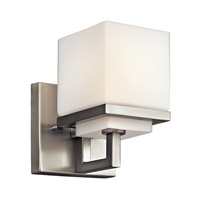 Kichler Lighting Metro Park 1 Light Wall Sconce in Brushed Nickel 45137NI photo thumbnail