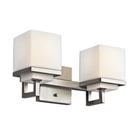 Kichler Lighting Metro Park 2 Light Bath Vanity in Brushed Nickel 45138NI photo thumbnail